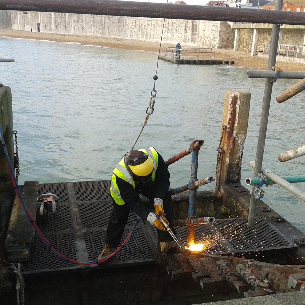 Portsmouth marine demolition